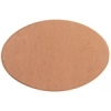 Metal Blank 24ga Copper Oval 20x30mm No Hole 9pcs